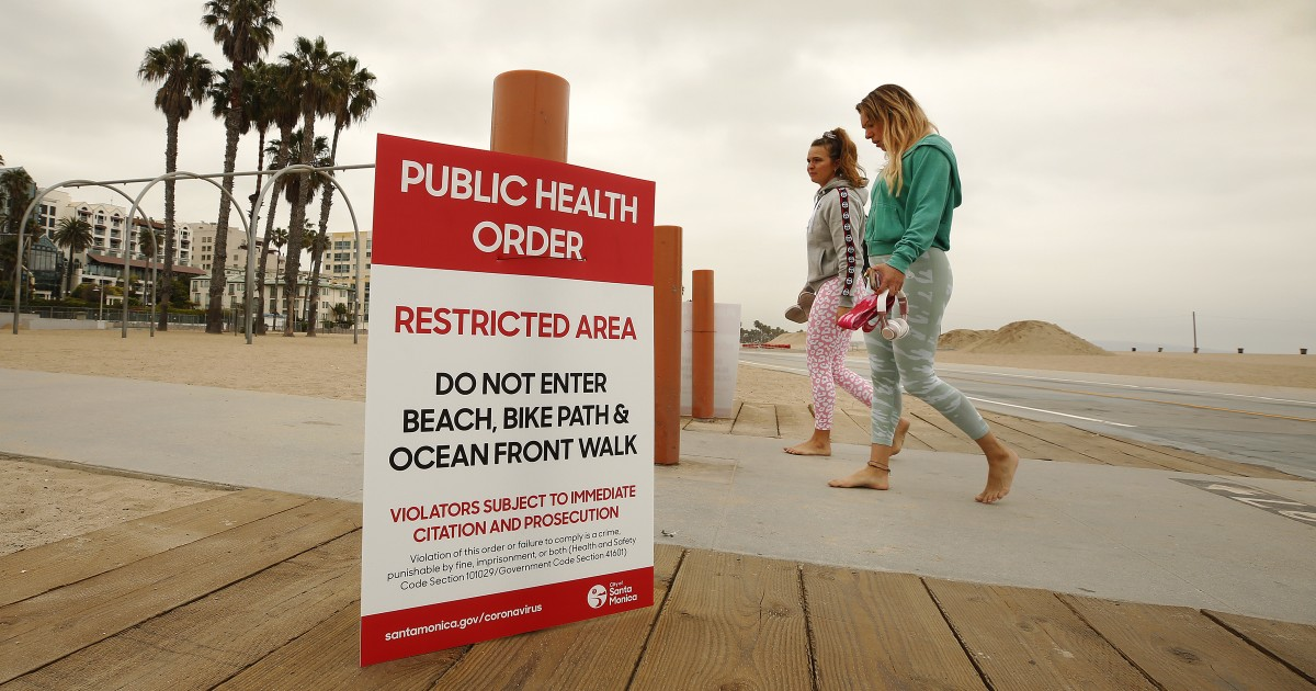 New signs that coronavirus restrictions are here for the long haul in California 1