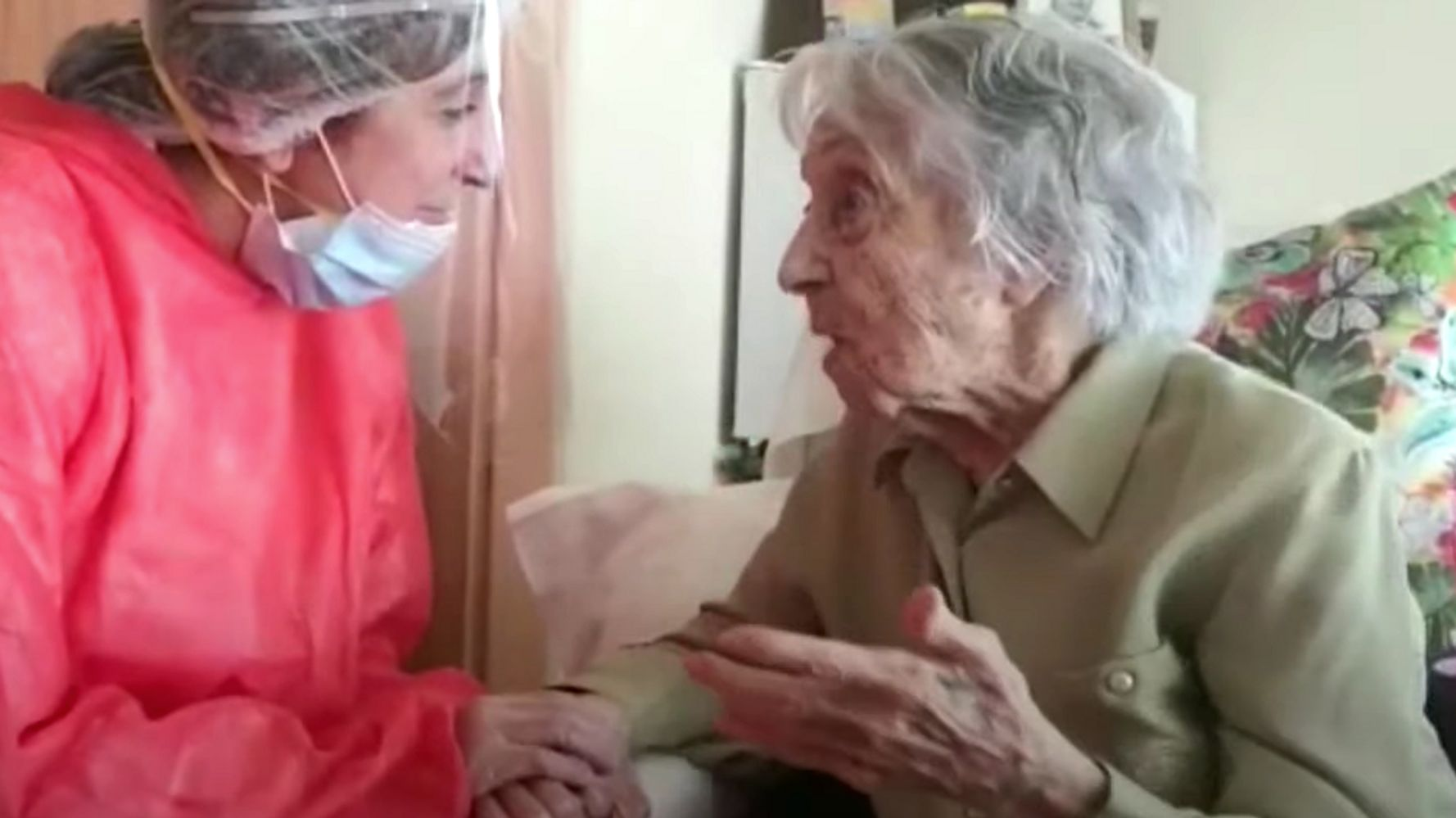 Spain's Oldest Woman Survives Coronavirus, Says Humanity Needs 'A New Order' 1