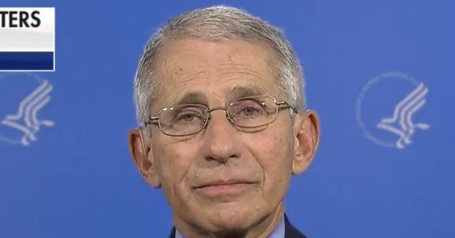 Fauci 'Cautiously Optimistic' of COVID-19 Vaccine by Late Fall and Early Winter 1