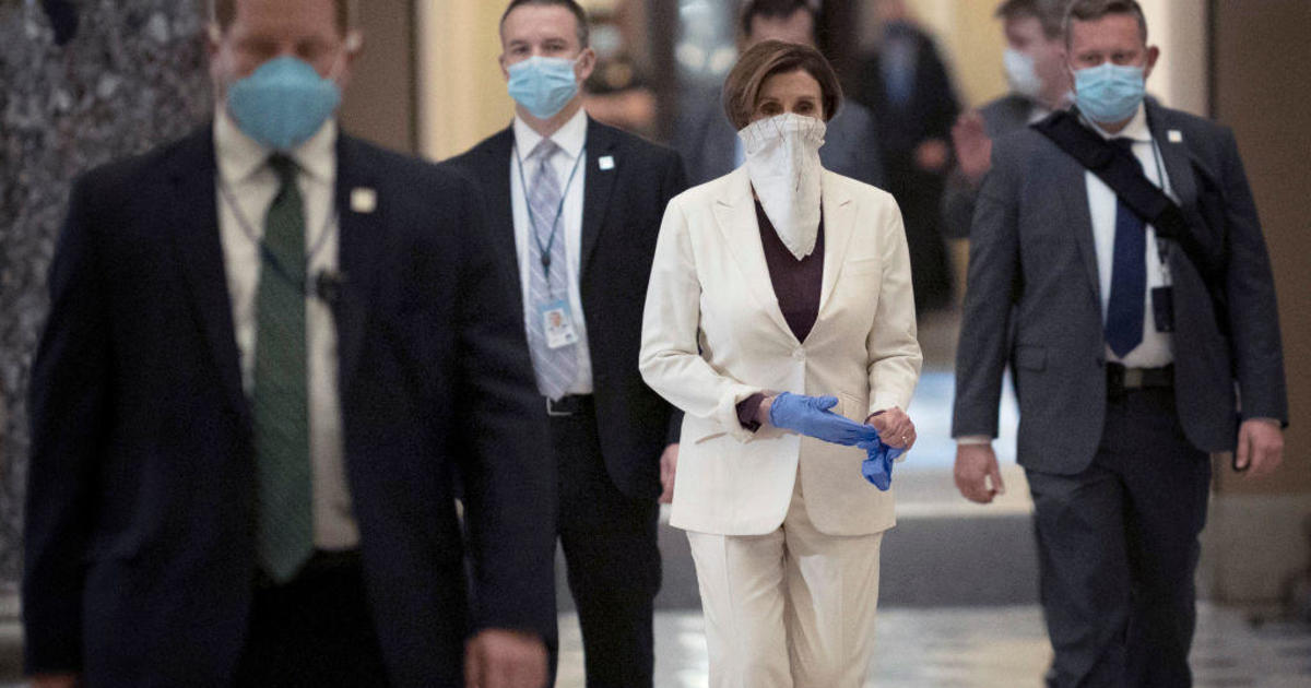 Pelosi unveils massive new coronavirus relief bill 1