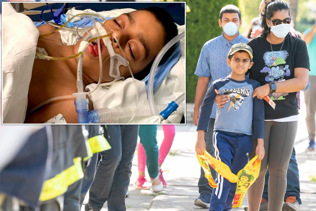 8-year-old NYC boy home after beating Kawasaki-like disease linked to coronavirus 1