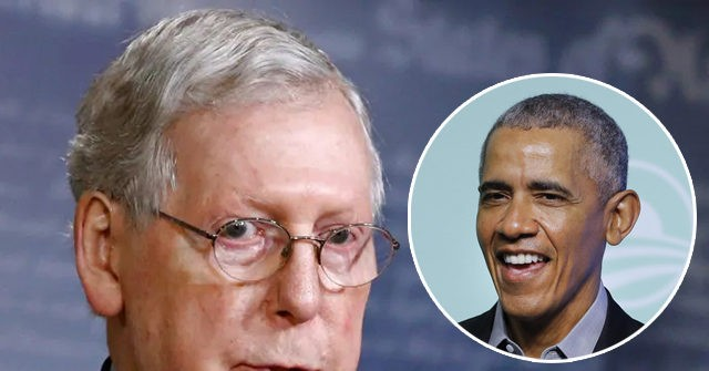 'Classless': Mitch McConnell Says Obama Should Have 'Kept His Mouth Shut' About Coronavirus Response 1