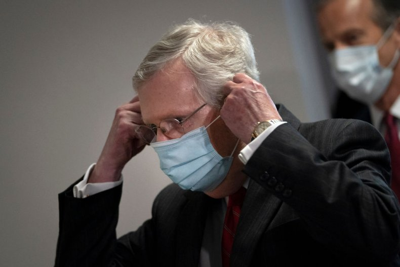 Mitch McConnell Says Lawmakers Must 'Take a Pause' on Coronavirus Relief Spending 1