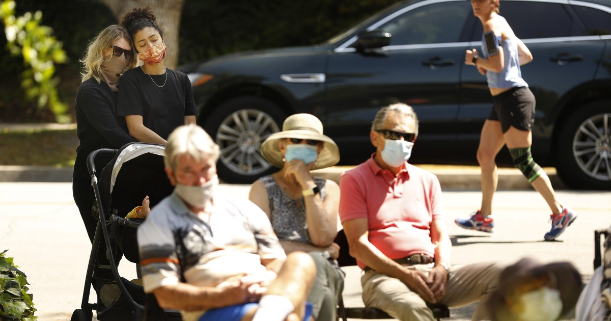 California, L.A. County see new single-day highs in coronavirus cases 1