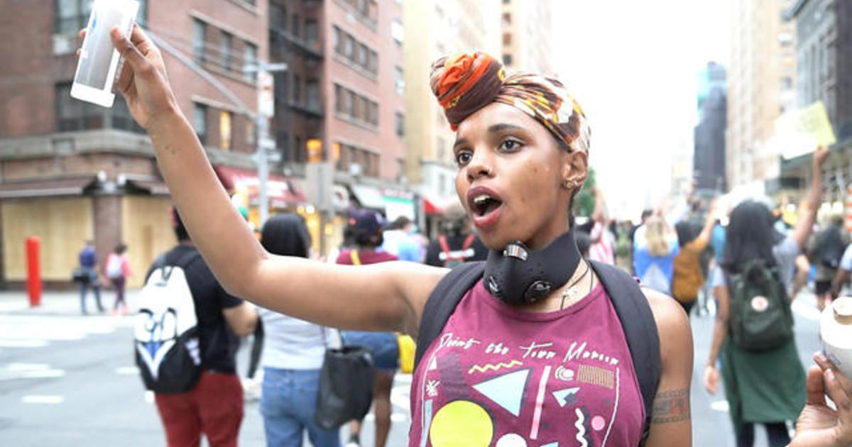 Profile of a protester: Genesis Hart 1