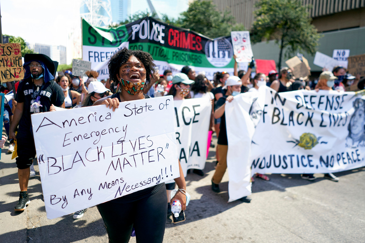 Texas man arrested for threatening to kill Black Lives Matter protesters 1