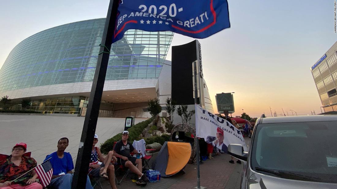 Oklahoma coronavirus cases rise as Trump rally moves forward 1