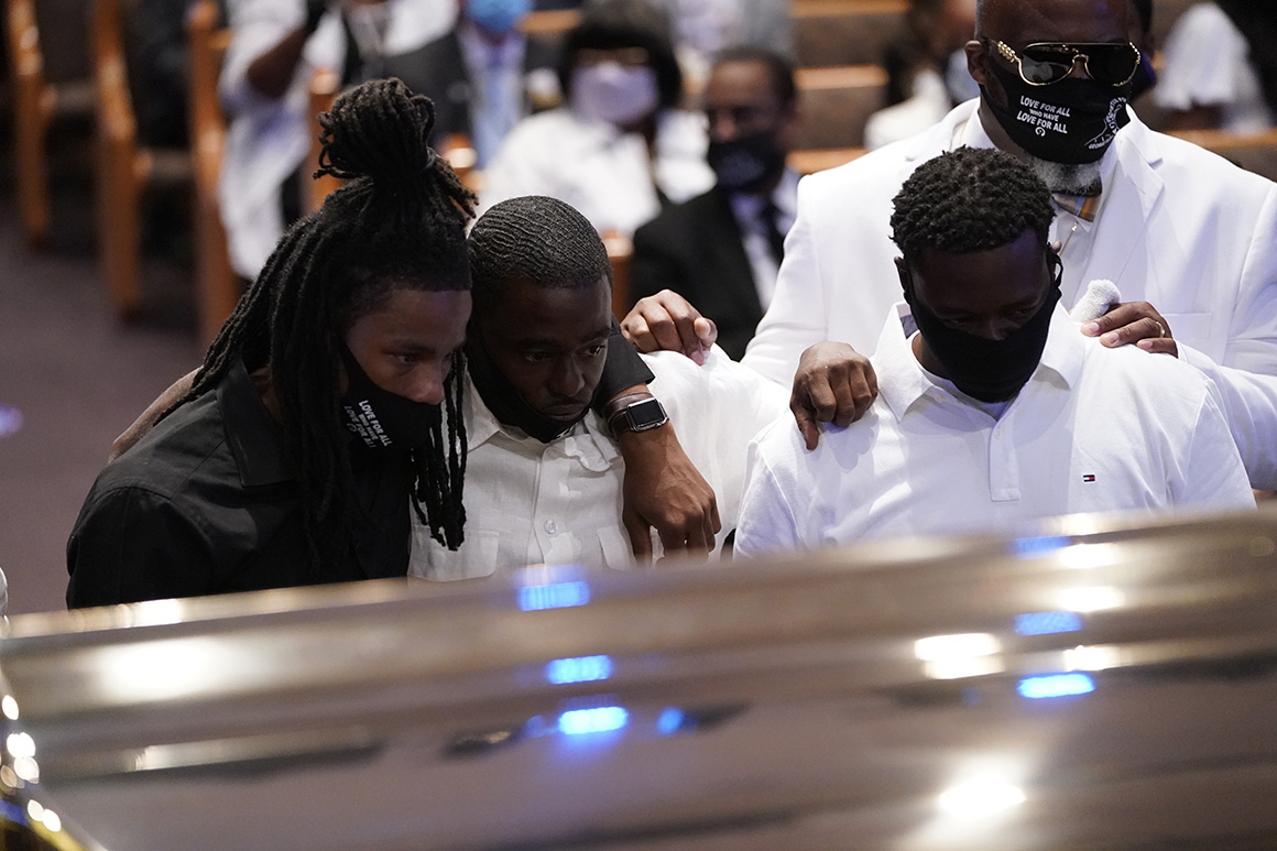After days of mourning and the sparking of a movement, George Floyd's funeral begins 1