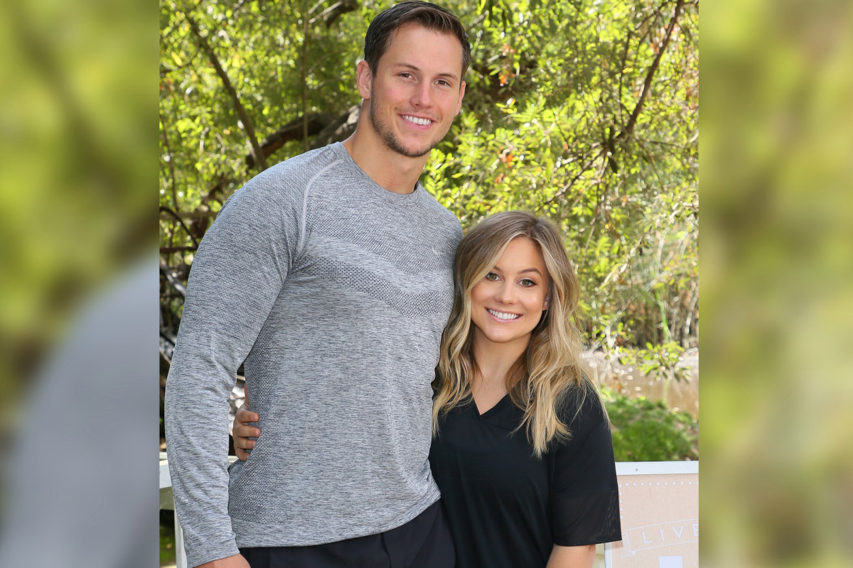 Shawn Johnson on her quarantine routine with husband Andrew East 1