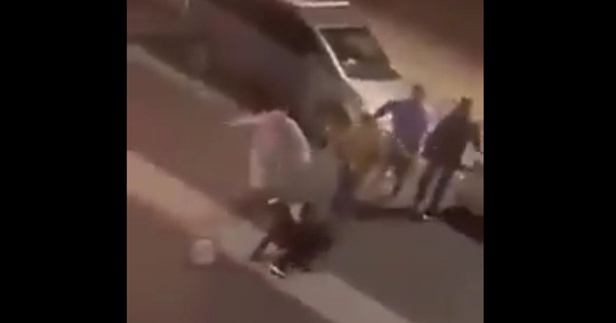 VIDEO: British Football Hooligans Chase, Beat BLM Rioters In Streets Of London 1