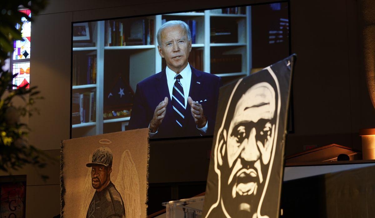 Joe Biden tells George Floyd funeral gathering grief will turn into 'purpose' 1