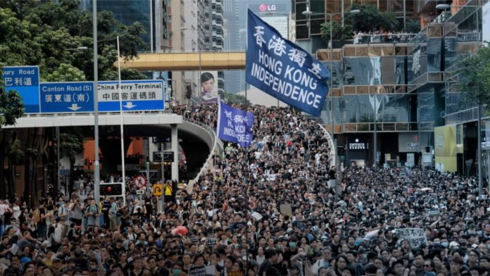 China Claims Hong Kong Protesters Show 'Obvious Signs of Terrorism' 1