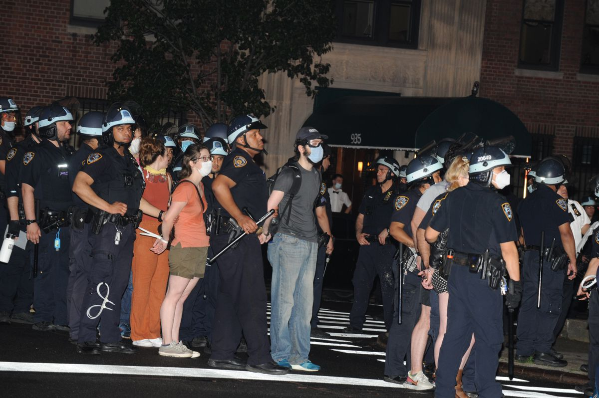 NYC Law Department probing whether NYPD broke law by questioning protesters on political activities 1