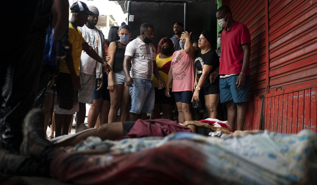 A teen's killing stirs Black Lives Matter protests in Brazil 1
