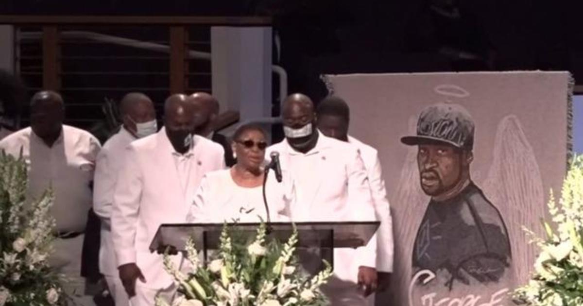 Family members speak at George Floyd's funeral 1