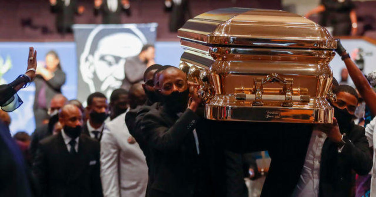 George Floyd's family and friends pay final respects at funeral in Houston 1