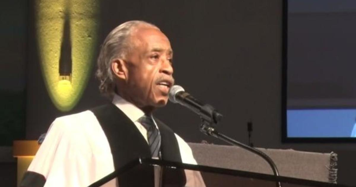 Rev. Al Sharpton gives eulogy for George Floyd at funeral service in Houston 1