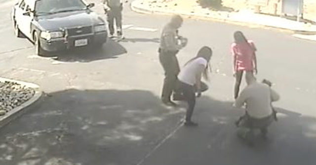 Watch: Palmdale Sheriff's Deputy Saves Protester's Choking Baby 1