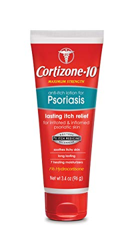 Cortizone-10 Anti Itch Lotion for Psoriasis, 3.4 Ounce