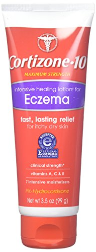 Cortizone 10 Intensive Healing Eczema Lotion, 3.5 Ounce (Pack of 1)