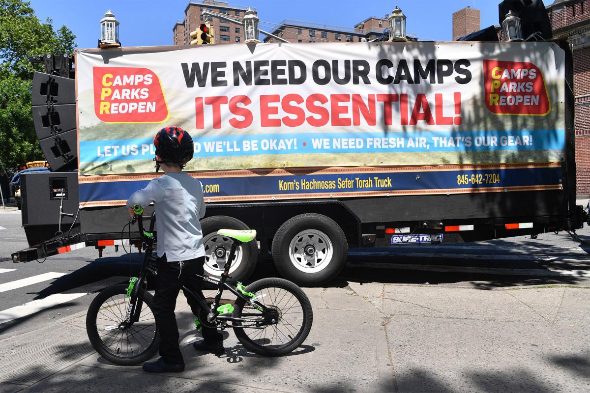 Jewish sleepaway camp owners sue Gov. Cuomo over coronavirus ban 1