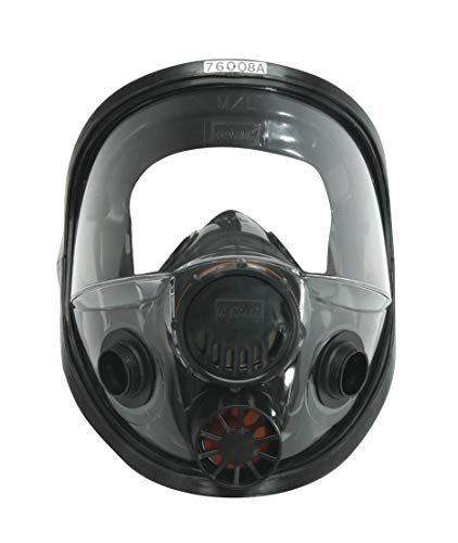 North 760008A Silicone Full Facepiece Respirators 7600 Series - Face Piece Only