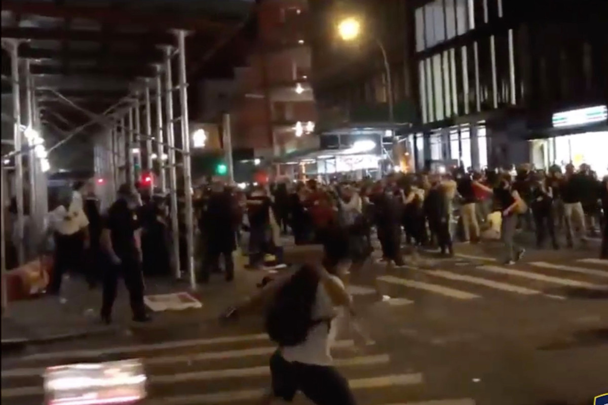 NYPD releases video of cops being assaulted during George Floyd protests 1