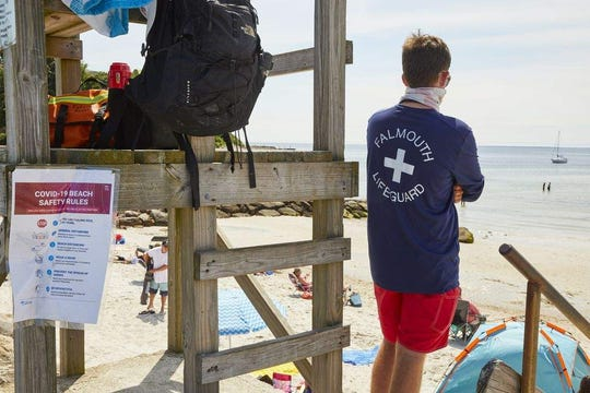 Eight Massachusetts lifeguards test positive for COVID-19 after party, boss says stay quiet 1