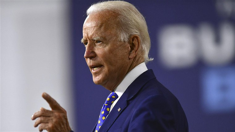Biden slams Trump, McConnell for 'political games' with further coronavirus aid 1