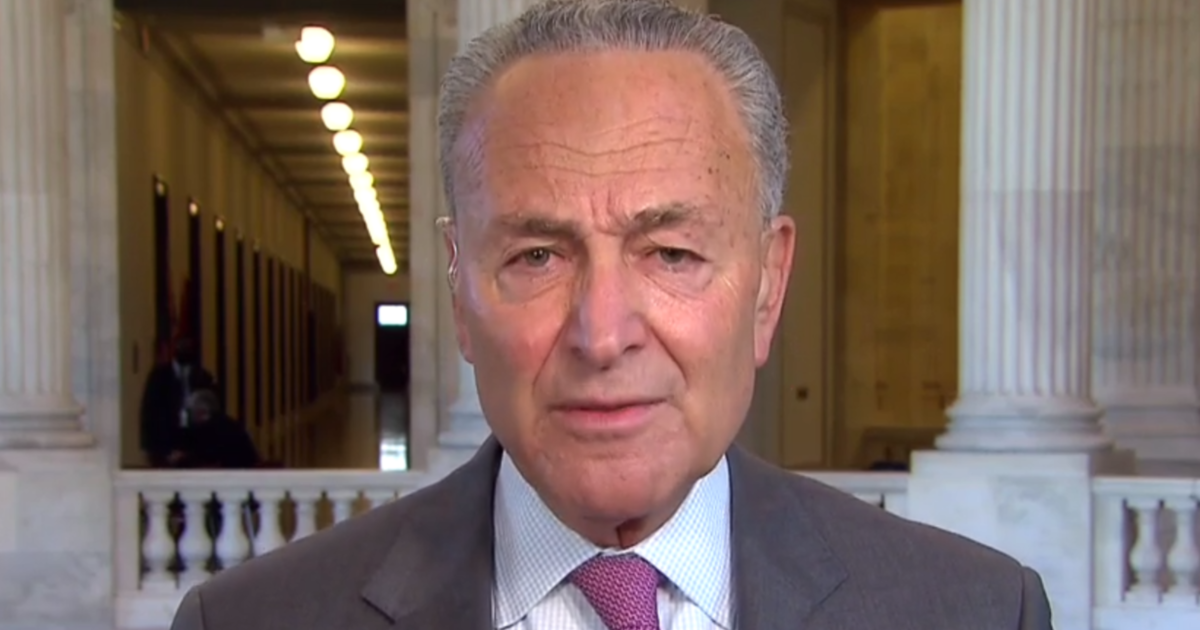 "Republican COVID-19 relief bill is ""stingy,"" Chuck Schumer says 1"