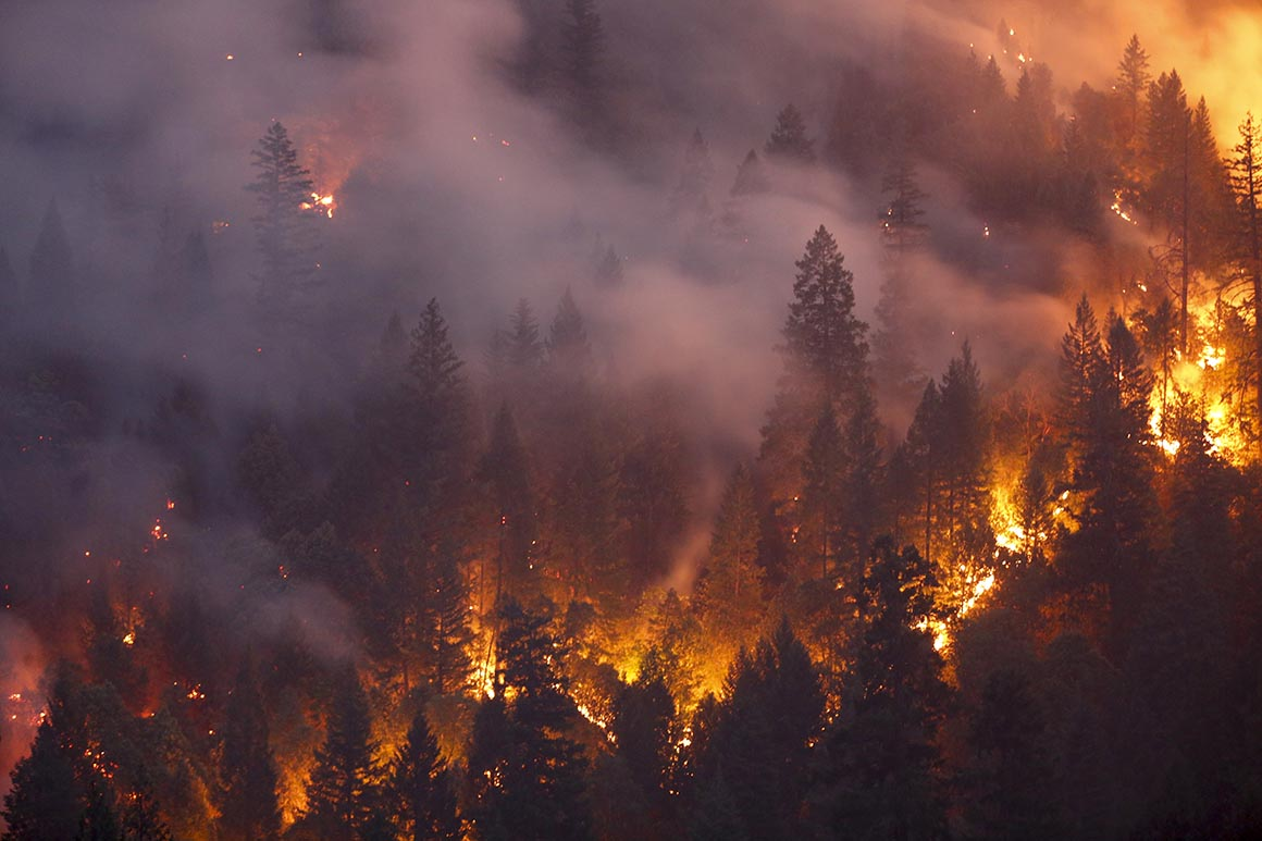 Fire season could bring complications to states already battling Covid-19 1