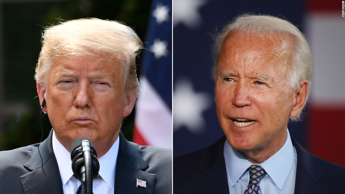 Biden opens up a 15-point lead over Trump in new national poll 1
