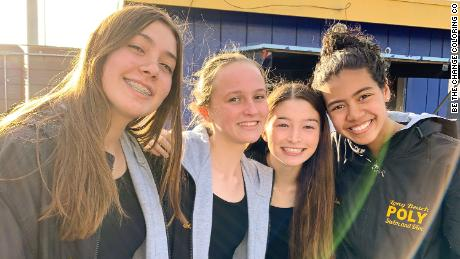 Four California teens create Covid-19 coloring book for children and raise money for charity 1