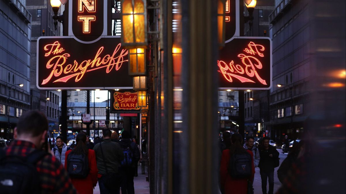 Berghoff closes temporarily, a month after reopening, blaming economic challenges due to COVID-19 pandemic 1