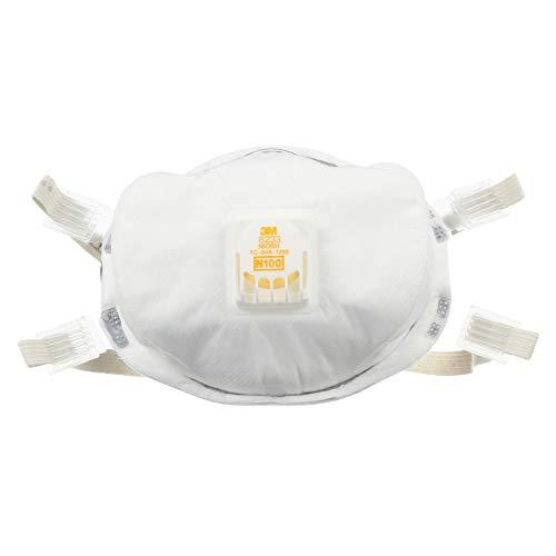 3M Particulate Respirator 8233, N100 (1 Piece)
