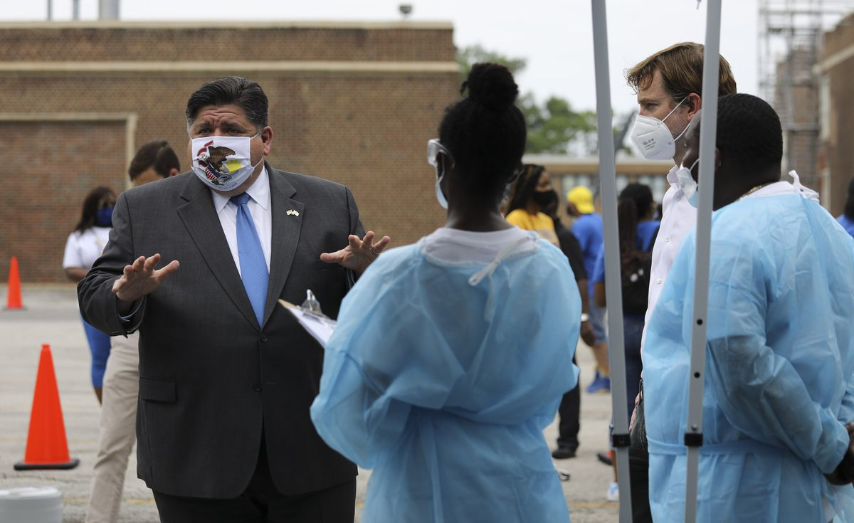 Gov. J.B. Pritzker outlines targeted approach to COVID-19 spikes in Illinois, lays out criteria for state to take action 1