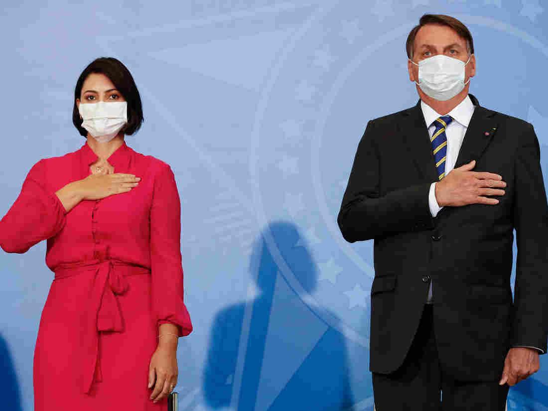 Michelle Bolsonaro, Brazil's First Lady, Tests Positive For Coronavirus 1