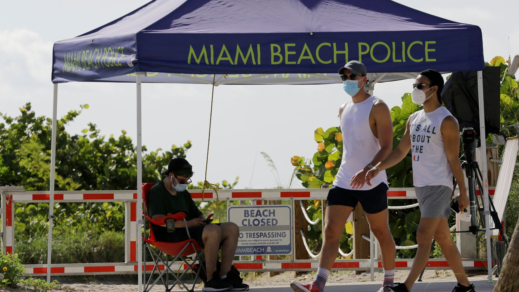Florida Coronavirus Cases Spike To New Daily Record 1