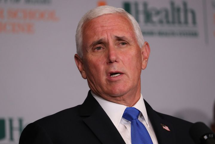 Mike Pence Met With Group Behind Viral Coronavirus Misinformation Video 1