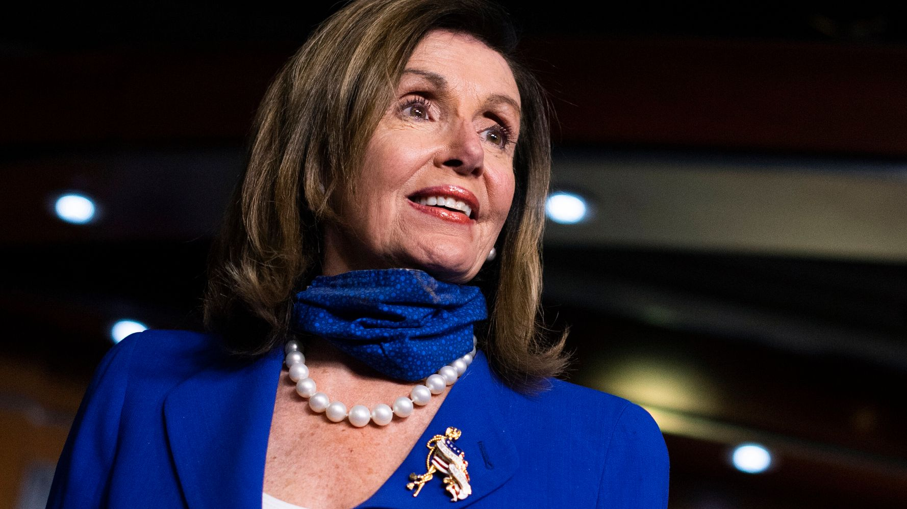 Nancy Pelosi To Make Masks Mandatory In House Chamber 1