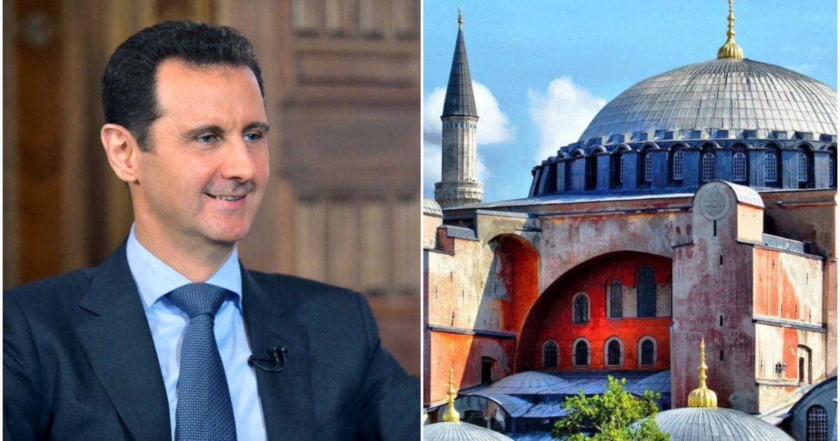Syria Planning to Build Replica of Hagia Sophia Church In Protest of Turkey's Mosque Conversion 1