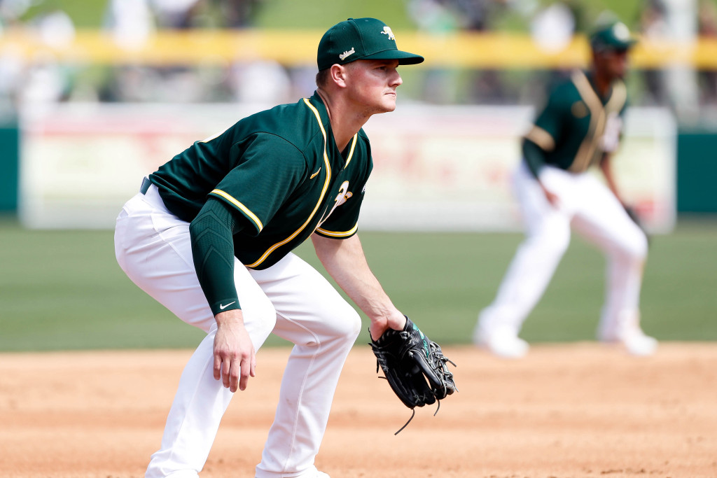 Predicting the A's Opening Day lineup against the Los Angeles Angels 1