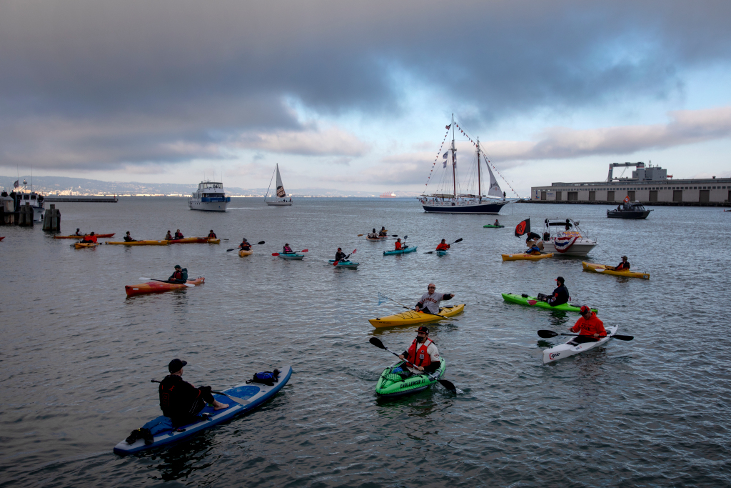 McCovey Cove ghost town: Just the SF Giants diehards on coronavirus-altered Opening Day 1