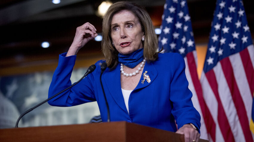 Pelosi makes mask-wearing mandatory for anyone on House floor 1