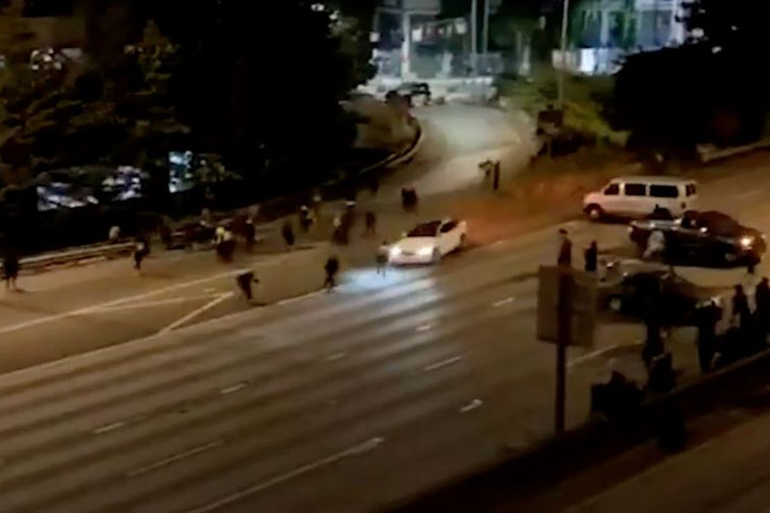 [Graphic Video] Seattle Protesters Find Out the Hard Way That It's Not Safe to Block Freeways at Night 1