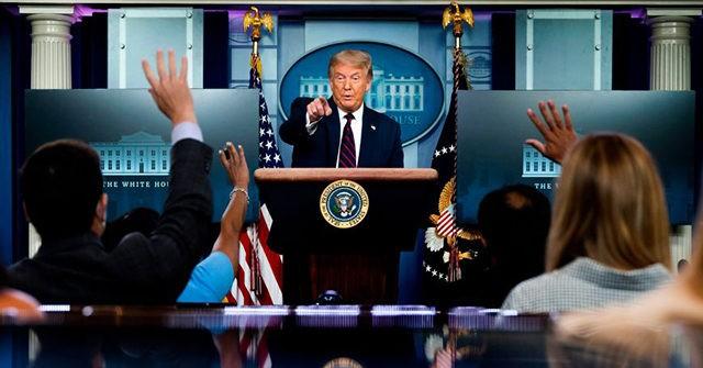 Watch Live: President Trump Holds a White House Coronavirus Press Briefing 1