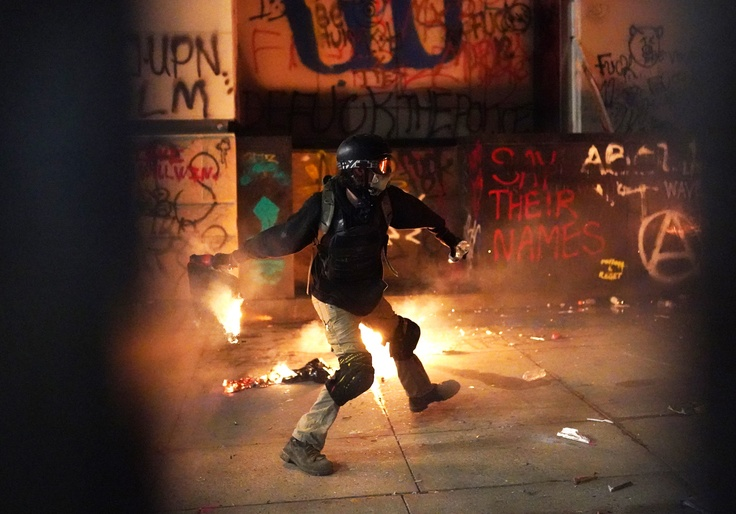 Black Leaders in Portland Criticize Violent Protesters 1