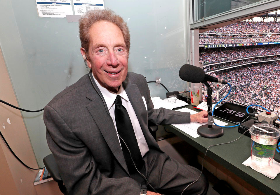Yankees voice John Sterling tests negative for coronavirus 1