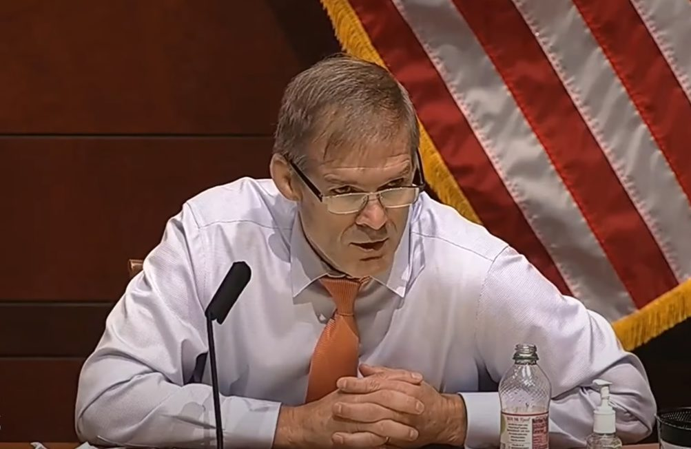 WATCH: Jim Jordan Slams Russia Hoax, Destroys Media Narrative Over 'Peaceful Protests' 1