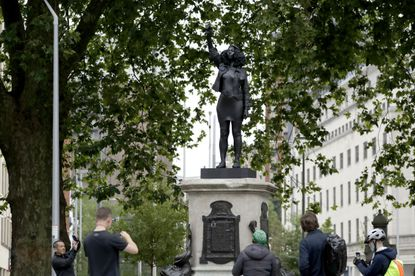 Statue of Black Lives Matter protester erected in place of recently toppled slave trader 1